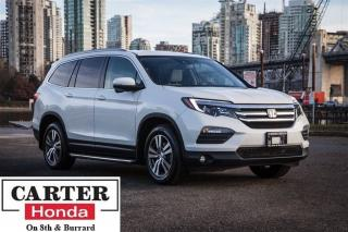 Used 2016 Honda Pilot EX-L w/NAVI + 8 SEATS + LEATHER + AWD + CERTIFIED! for sale in Vancouver, BC
