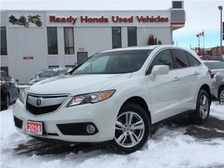 Used 2014 Acura RDX AWD   Leather   Sunroof   NEW TIRES for sale in Mississauga, ON