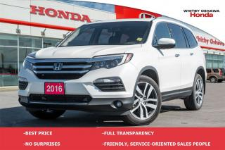 Used 2016 Honda Pilot Touring   Automatic for sale in Whitby, ON