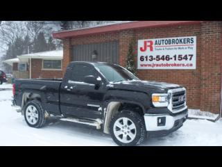 Used 2014 GMC Sierra 1500 SLE Z71 4X4 Reg Cab Short Box Low Kms! for sale in Elginburg, ON