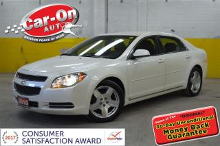 Used 2010 Chevrolet Malibu PLATINUM LEATHER HTD SEATS LOADED for sale in Ottawa, ON