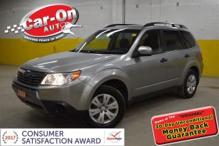 Used 2009 Subaru Forester 2.5 X AWD HTD SEATS A/C ONLY $93 BIWEEKLY! O.A.C for sale in Ottawa, ON