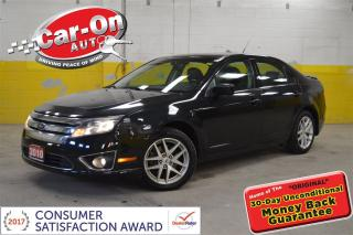 Used 2010 Ford Fusion SEL 3.0L V6 LEATHER SUNROOF HEATED SEATS LOADED for sale in Ottawa, ON