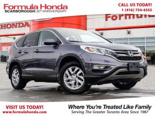 Used 2016 Honda CR-V $100 PETROCAN CARD YEAR END SPECIAL! for sale in Scarborough, ON