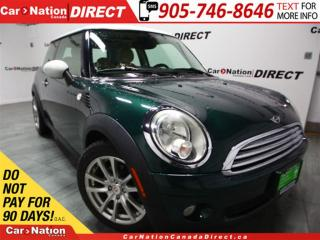 Used 2008 MINI Cooper | LEATHER| DUAL SUNROOF| LOW KM'S| for sale in Burlington, ON