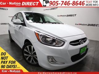 Used 2017 Hyundai Accent SE| SUNROOF| HEATED SEATS| for sale in Burlington, ON