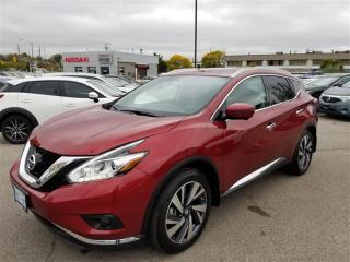 Used 2017 Nissan Murano Platinum AWD CVT FULLY LAODED DEMO|APPLE CARPLAY|G for sale in Scarborough, ON