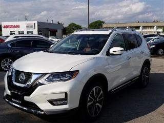 Used 2017 Nissan Rogue SL Platinum AWD DEMO|FULLY LOADED|UNIQUE BROWN INT for sale in Scarborough, ON