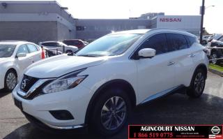 Used 2017 Nissan Murano SL AWD CVT DEMO|UNIQUE TAN INTERIOR|GPS|APPLE CAR for sale in Scarborough, ON