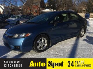 Used 2010 Honda Civic DX-A/LOW, LOW KMS/PRICED FOR A QUCK SALE for sale in Kitchener, ON
