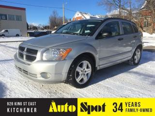 Used 2007 Dodge Caliber SXT/LOW, LOW KMS/PRICED FOR A QUICK SALE for sale in Kitchener, ON