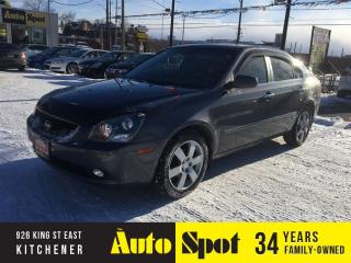 Used 2007 Kia Magentis SX/FULLY LOADED/PRICED FOR A QUICK SALE ! for sale in Kitchener, ON