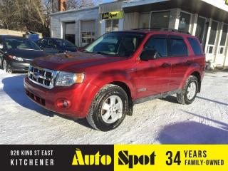 Used 2008 Ford Escape XLT/LOW, LOW KMS!/RARE/PRICED FOR A QUICK SALE for sale in Kitchener, ON