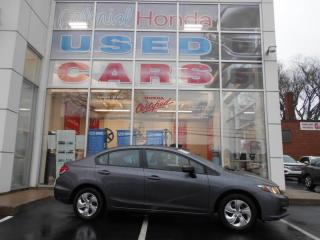 Used 2015 Honda Civic LX HEATED SEATS AND BACK UP CAMERA for sale in Halifax, NS