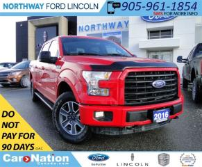Used 2016 Ford F-150 XLT | NAV | REAR CAMERA | 4X4 | RUNNING BOARDS | for sale in Brantford, ON