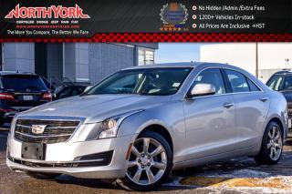 Used 2015 Cadillac ATS Sedan AWD|Cadillac CUE & Surround Sound Pkg|17