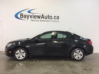 Used 2016 Chevrolet Cruze - 6 SPEED|1.8L|ON STAR|18 KM|AS BUDDY! for sale in Belleville, ON