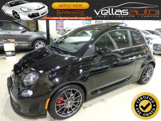 Used 2015 Fiat 500 ABARTH| PANO RF| 9,242KM| AUTOMATIC for sale in Woodbridge, ON