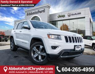 Used 2016 Jeep Grand Cherokee Limited *ACCIDENT FREE* *LOCALLY DRIVEN* for sale in Abbotsford, BC