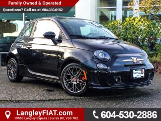Used 2016 Fiat 500 Abarth B.C OWNED, LOW KM'S for sale in Surrey, BC