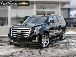 Used 2017 Cadillac Escalade ESV Luxury for sale in Gloucester, ON