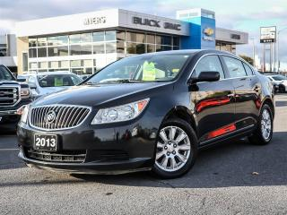 Used 2013 Buick LaCrosse 1SB, AUTO, A/C, PWR SEATS, REMOTE START, CRUISE for sale in Ottawa, ON