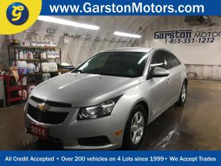 Used 2014 Chevrolet Cruze 2LT*TURBO*LEATHER*BACK UP CAMERA*MY LINK PHONE CONNECT*KEYLESS ENTRY w/REMOTE START* for sale in Cambridge, ON
