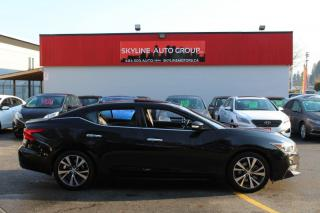 Used 2017 Nissan Maxima SL 3.5L for sale in Surrey, BC
