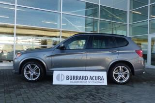 Used 2013 BMW X3 xDrive35i M SPORT! Heads-Up Display! for sale in Vancouver, BC