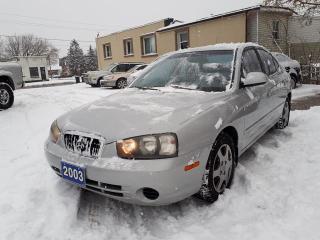 Used 2003 Hyundai Elantra cerified..low kms!! for sale in Oshawa, ON