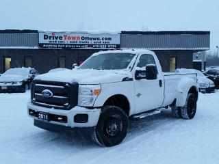 Used 2011 Ford F-350 Super Duty XL DUALLY 4X4 DIESEL with TOMMY GATE LIFT for sale in Gloucester, ON