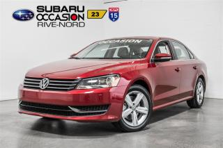 Used 2015 Volkswagen Passat COMFORTLINE for sale in Boisbriand, QC
