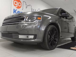 Used 2017 Ford Flex Limited AWD with NAV, sunroof, power liftgate, power leather seats and a back up cam for sale in Edmonton, AB