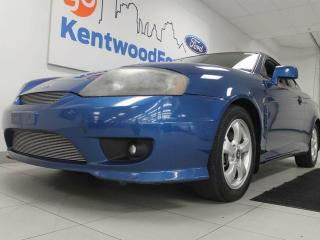 Used 2006 Hyundai Tiburon SE coupe with a sunroof! for sale in Edmonton, AB