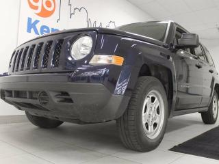 Used 2016 Jeep Patriot Sport/North 5-SPD manual ready for life's wildest adventures for sale in Edmonton, AB