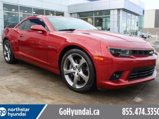 Used 2014 Chevrolet Camaro 2SS LEATHER/NAV/HEATED SEATS/EXHAUST for sale in Edmonton, AB