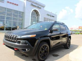 Used 2018 Jeep Cherokee TRLHWK for sale in Peace River, AB