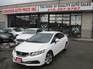 Used 2013 Honda Civic BUETOOTH-HETAED SEATS-ALL POWER for sale in Scarborough, ON