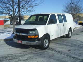Used 2005 Chevrolet Express 2500 DUAL DOORS for sale in York, ON