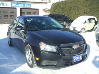 Used 2014 Chevrolet Cruze 2LT,Heated Leather Seats , Remote Start for sale in Beaverton, ON