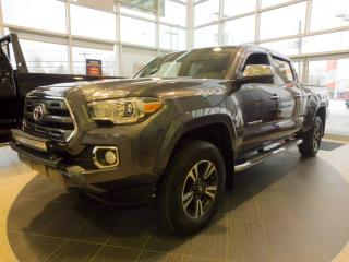 Used 2017 Toyota Tacoma Limited, CUIR, GPS, couvre-caisse, démo for sale in Saint-raymond, QC