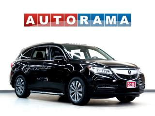 Used 2014 Acura MDX TECH PKG NAVIGATION LEATHER SUNROOF 7 PASS 4WD for sale in North York, ON