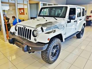 Used 2017 Jeep Wrangler Winter Extreme Unlimited 2 TOITS 4x4 / P for sale in Mirabel, QC