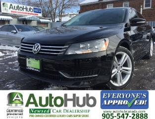 Used 2013 Volkswagen Passat LEATHER-NAV-2.5L-SUNROOF-HEATED SEATS for sale in Hamilton, ON