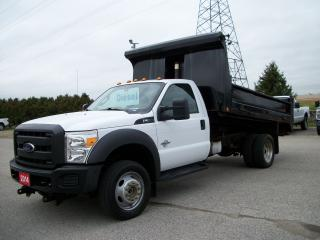 Used 2014 Ford F-550 XL 12' Dump DIESEL for sale in Stratford, ON