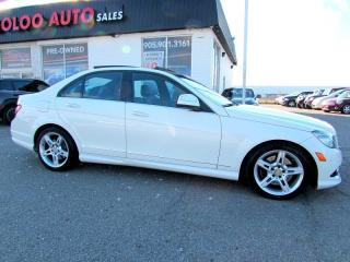 Used 2009 Mercedes-Benz C-Class C350 4MATIC NAVIGATION PANORAMIC CERTIFIED 2YR WAR for sale in Milton, ON