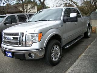 Used 2010 Ford F-150 Lariat Super Crew 4x4 for sale in Stratford, ON