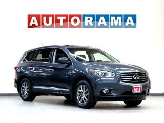 Used 2014 Infiniti QX60 NAVIGATION LEATHER SUNROOF 4WD 7 PASS BACKUP CAM for sale in North York, ON