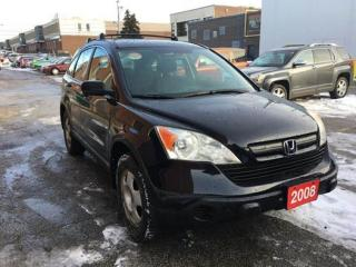 Used 2008 Honda CR-V LX  AWD for sale in North York, ON