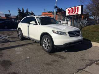 Used 2008 Infiniti FX35 WELL KEPT,NO ACCIDENT,SAFETY+3YEARS WARANTY INCLUD for sale in North York, ON